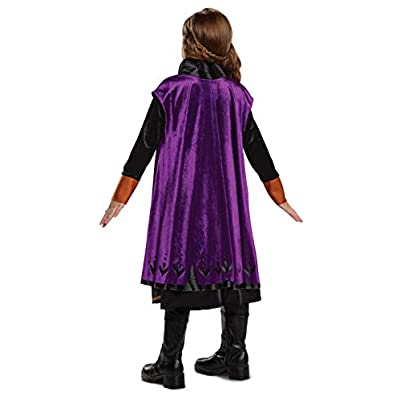 Disguise Disney Anna Frozen 2 Deluxe Girls' Halloween Costume: Toys & Games