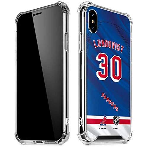 Amazon Com Skinit New York Rangers 30 Henrik Lundqvist Iphone Xs