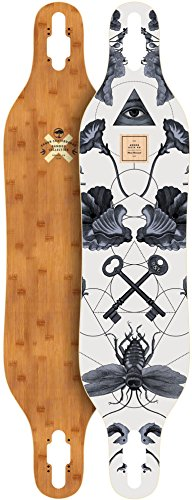 Arbor Axis Bamboo 2017 Longboard Deck New With Grip Tape