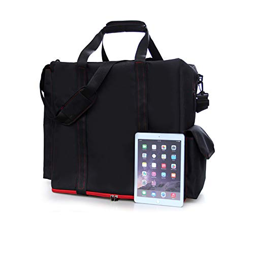 193f15c6c9e2 Buwico Desktop PC Computer Main Processor Travel Storage Carrying Case  Bag,Black