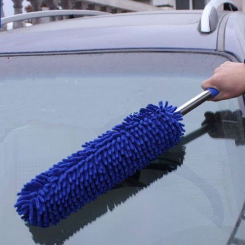 new-truck-car-cleaning-wash-brush-dusting-tool-large-microfiber-duster-blue