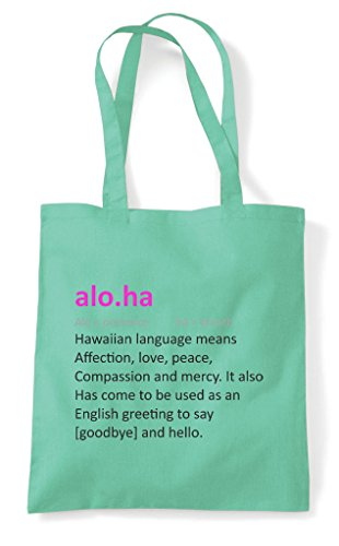 Mint Alternative Funny Not Definition Aloha Shopper In The Dictionary Bag Tote 7qCO7ERv