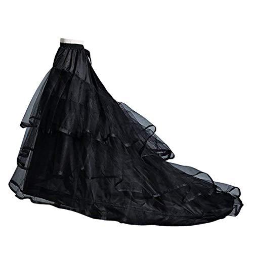 marie ne Jupon Hoopless Jupes tra de Wedding Jupons marie Robe Bal Petticoat Femme Noir Robe Jupon Jupes Crinoline Jupon Mariage Longue Femme Jupon Efvqvc