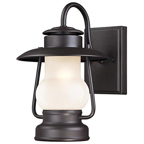 Rustic outdoor light amazon westinghouse 6204200 santa fe 1 light outdoor wall lantern weathered bronze aloadofball Images