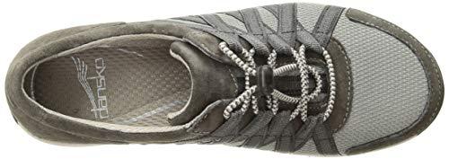 36 US European Black Dansko Suede Honor Sneaker Charcoal Women's Fn6qavI
