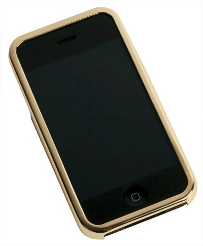 Gilty Couture 14k Gold-Plated Smooth Faceplate for iPhone ()