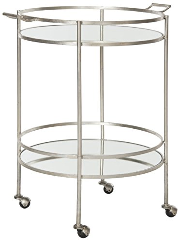 Safavieh Home Collection Lavinia Silver Bar Cart