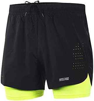 ARSUXEO Active Training Running Shorts product image