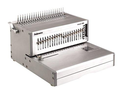 Fellowes 5642701 Rilegatrice Elettrica a Dorso Plastico Orion-E, Capacità di Rilegatura 500 Fogli, Silver Capacità di Rilegatura 500 Fogli