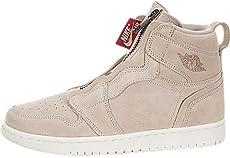 Mens Air Jordan 1 Mid Olive Canvas White Black 554724-301 9078a6e1e