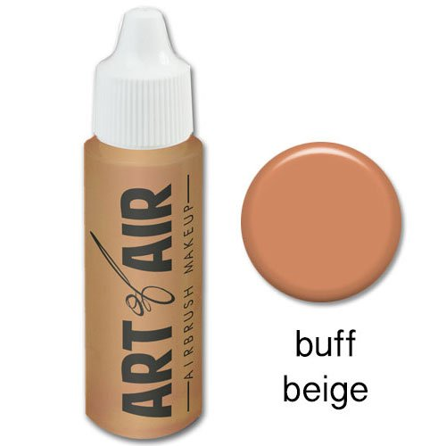 Art of Air Airbrush Makeup - Foundation 1/2oz Bottle Choose Color (Buff Beige)