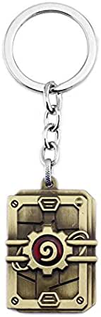 Hearthstone Alloy electroplating key chain for unisex