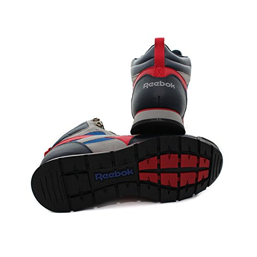 Reebok - Royal Hiker - M42012 - Couleur: Bleu marine-Gris-Rouge - Pointure: 44.0