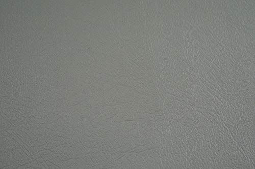 Vinyl Upholstery Fabric Very Light Gray Sample 3