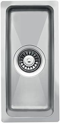 la015 XS peque/ño Radius Cocina Fregadero rectangular para el fregadero \ empotrable.