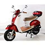 TaoTao CY50-B BLUE 49cc Gas Automatic Scooter Moped w/ 10 Inch Steel Rims