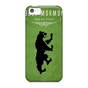 For ObX2345MPnn Game Of Thrones House Mormont Protective Case Cover Skin/iphone 5c Case Cover