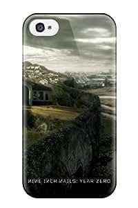 David R. Spalding's Shop 2680892K88359606 Fashion Tpu Case For Iphone 4/4s- Nine Inch Nails Defender Case Cover