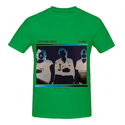 Tangerine Dream Poland The Warsaw Concert Tracks Mens Slim Fit T Shirt Green
