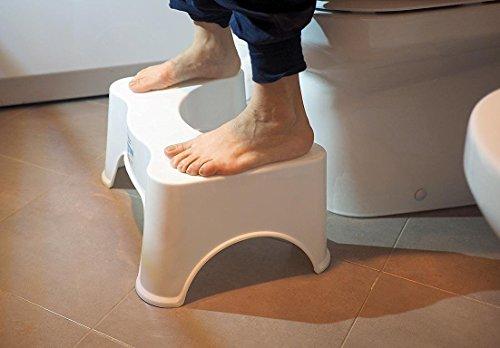 Twinzen potty sgabello posturale da gabinetto per posizione più