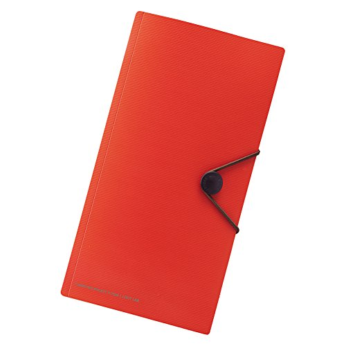 Lihit Lab., Inc. Carrying pocket for TRAVEL Orange F7526-4