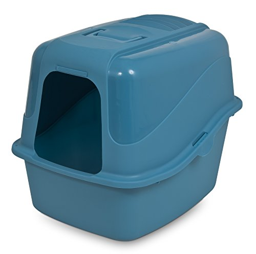 Petmate Kitty Komplete Jumbo Hooded Litter Pan and Hood, - Pan Hooded Set Petmate