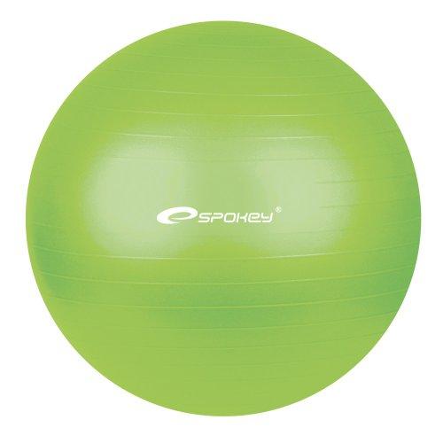 SPOKEY® FITBALL Fitnessball (Gymnastikball Sitzball Bürostuhl Anti-Burst mit Handpumpe), Variante:grün 75 cm