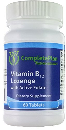 Sublingual Methylcobalamin Vitamin B12 and Active Methyl Folate – Natural Cherry – Chewable Lozenge (Methyl B12 and L-5-MTHF) Review