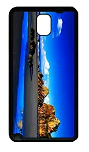 covers underwater rocky beach hd TPU Black case/cover for samsung galaxy note 3 N9000