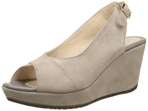 Heels Women's Marlene Taupe Grey Ii Sandals Stonefly 423 Wedge 2 qtXCwSw