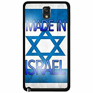 Made in Israel TPU RUBBER SILICONE Phone Case Back Cover Samsung Galaxy Note III 3 N9002