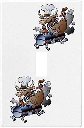 BBQ Bullウォールプレートスイッチプレートカバー1ギャング ) Single – – Single ) B00LW0J2I8, 【国内即発送】:ba6cf9b1 --- gamenavi.club