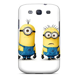 New Arrival Case Cover With NDzzslK3234bdJUM Design For Galaxy S3- Minions