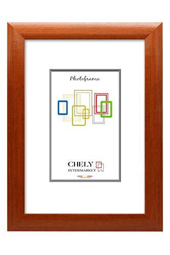 Chely Intermarket, Marco de Fotos Grandes 40x50 cm (Cerezo) MOD-257, Hecho de Madera MDF, Ancho de Bastidor 1,90 cm con Acabado Elegante (257-40x50-0,95)