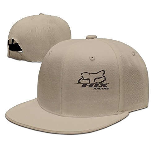 (Evelyn C. Connor Fox-racing-logo-vector Adjustable Trucker Hats Natural )