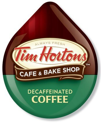 Tim Hortons Decaffeinated Coffee 2 pack, 4.33oz - Discs Tassimo Decaf