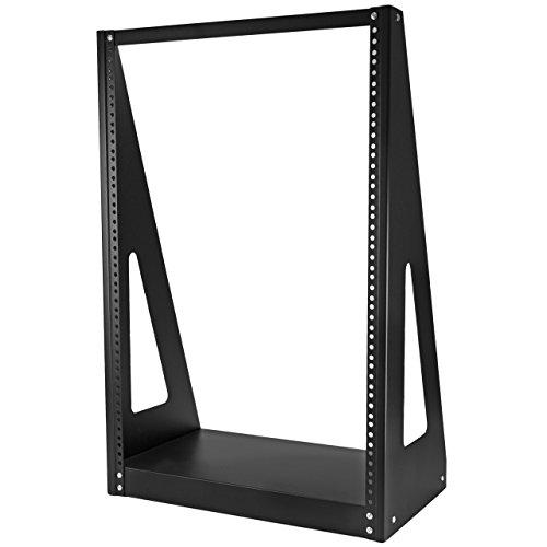 StarTech 16U Heavy Duty 2-Post Open-Frame Server Rack (2POSTRACK16) (Hd Heavy Duty Rack)