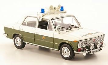 Lada VAZ 2103, Volkspolizei, Modellauto, Fertigmodell, IST