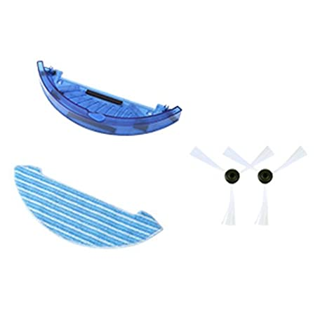 cepillo lateral para Chuwi iLife V7S iLife V7S Pro Robot aspiradora Parts Kit MOP paños, cepillo lateral: Amazon.es: Hogar