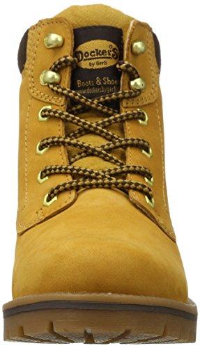 Dockers by Gerli 35aa202-300910, Botas Desert para Mujer, Amarillo (Golden Tan), 42 EU