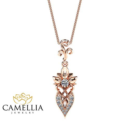 Buy filigree diamond pendant