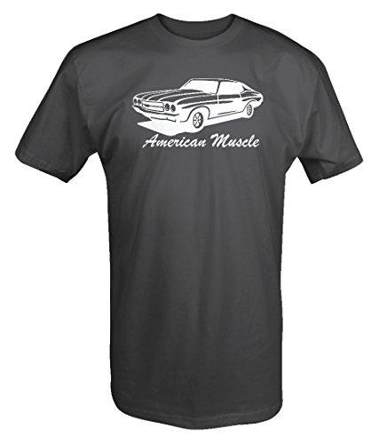 American Muscle Car Chevy Chevelle Nova SS Hot Rod T shirt - Xlarge