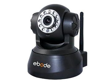 Ebode IPV38 - Cámara de vigilancia IP (para interior, inalámbrica), color negro