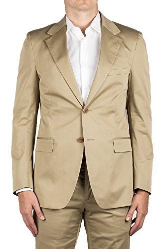 Prada Men's Cotton Two-Button Suit Khaki