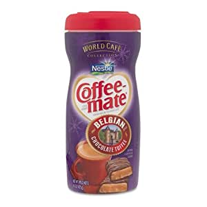 NES25732 - Coffee-mate World Caf Belgian Chocolate Toffee Powdered Creamer