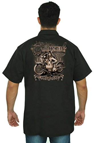 Motorcycle Button Down Shirts - 2