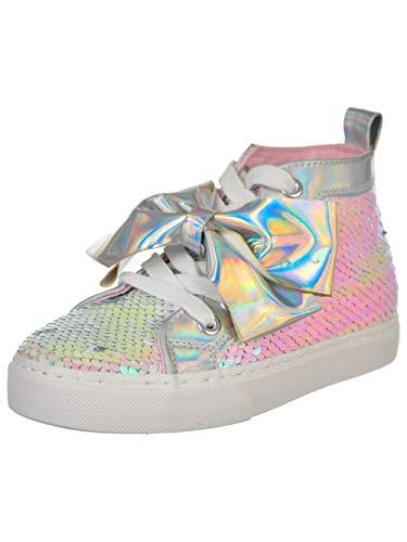Jojo Siwa Little Girls Hi-Top Sneakers - Pink/Silver, 4 ()