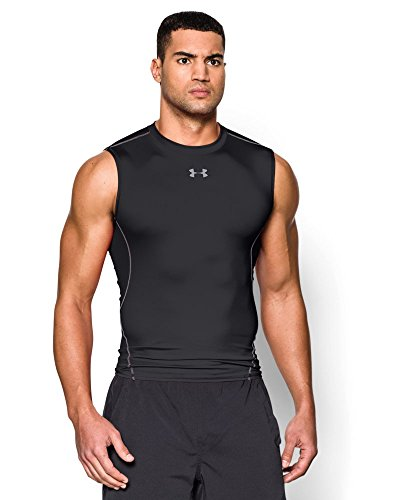Mens+Tank+Tops Products : Under Armour Men's HeatGear Armour Sleeveless Compression Shirt