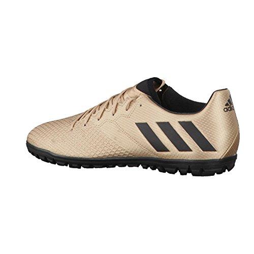 adidas MESSI 16.3 TF - Botas de fútbol Línea Messi para Hombre, Bronce - (COBMET/NEGBAS/VERSOL) 48 2/3