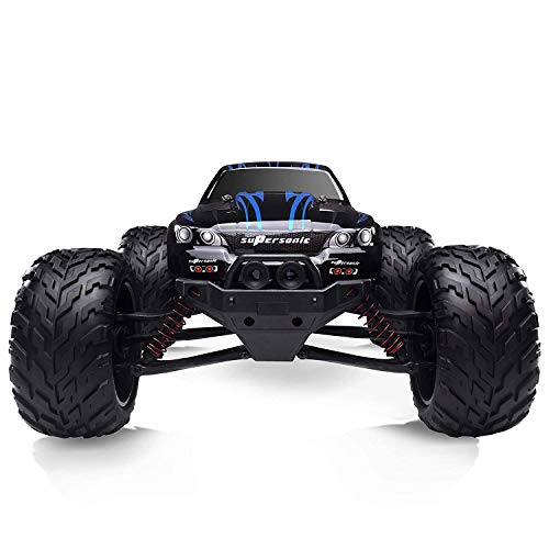 Hosim All Terrain RC Car 9112, 38km/h 1/12 Scale Radio Controlled Electric Car - Offroad 2.4Ghz 2WD Remote Control Truck - Best Christmas Gift for Kids and Adults (Blue) from Hosim